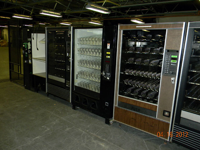 vending machine enclosures